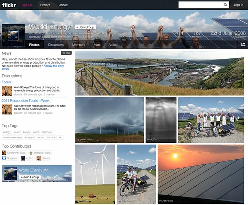 Flickr: The World Energy Pool