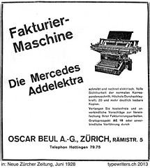 Flickr: The Vintage Typewriter Advertising Pool