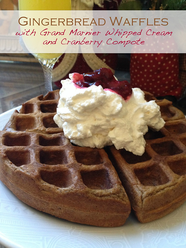 ... waffles—gingerbread waffles! For me, it really couldn't get much