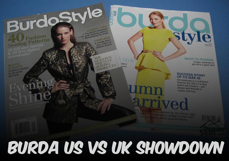 Burda US versus UK/International Comparison – Denver Sewing Collective