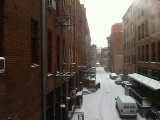 Downtown Denver: Snow