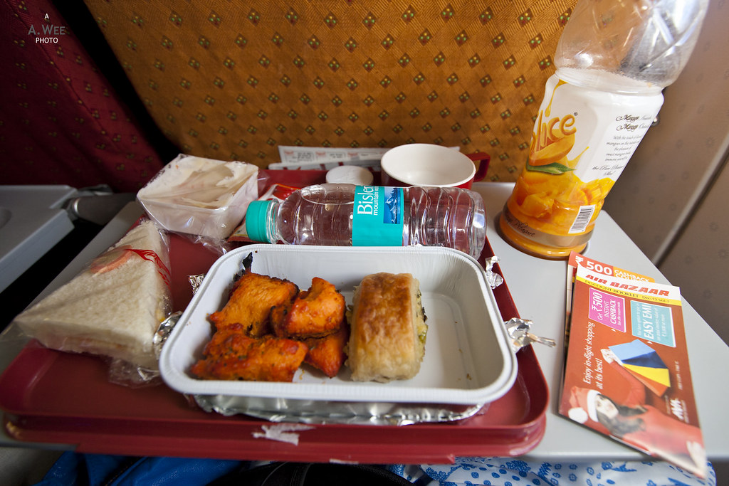 Inflight Meal of Chicken Tandoori