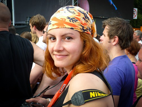 Me at Bospop festival 2013 by Gingertail
