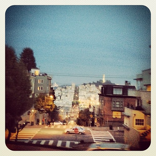 View from Lombardi Street by @MySoDotCom