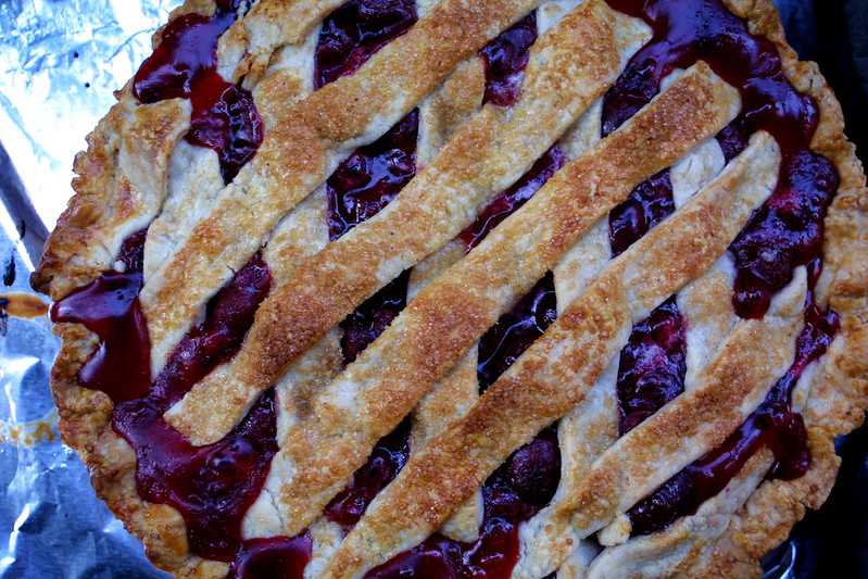 Cherry pie, cheater's lattice