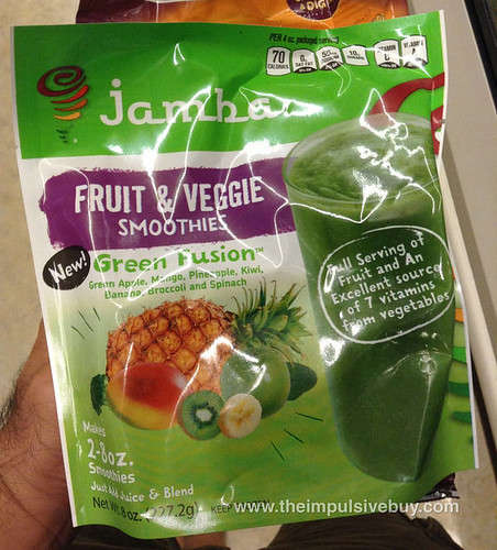 Jamba Green Fusion Fruit & Veggie Smoothie Mix