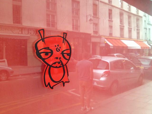 Window street art