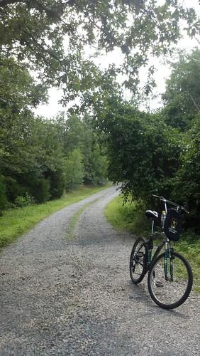 gravel road biking