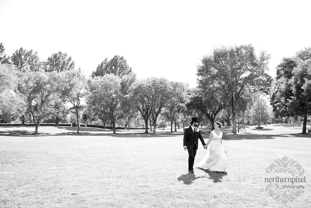 Fort George Park Wedding - in Prince George BC