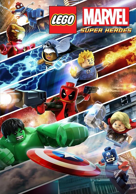 LEGO Marvel Super Heroes poster1023