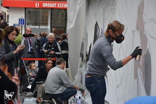 Paris Live Painting - Katre & Seth