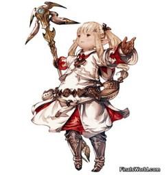 Lalafel mago blanco