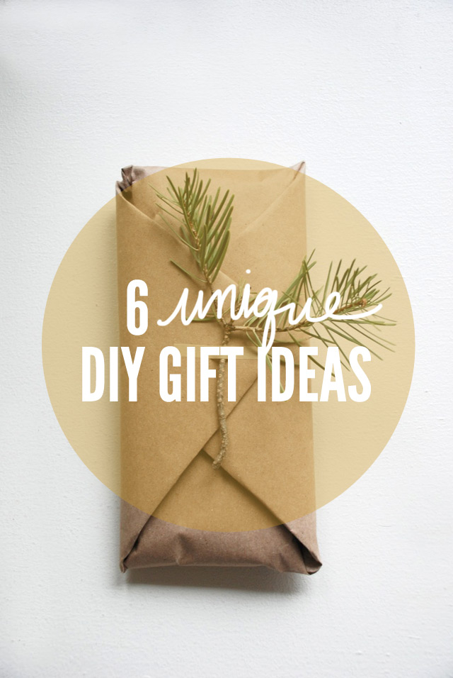 unique diy gift ideas