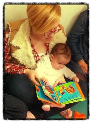 Bbencontro na Biblioteca do Forum para bebes de 0 a 12 meses