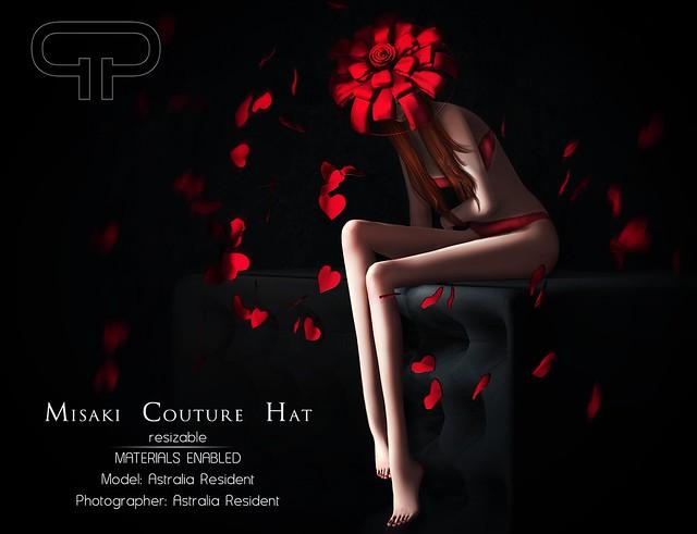 Pure Poison - Misaki Couture Hat