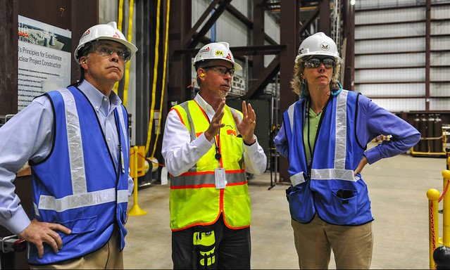 NRC Chairman visits Georgia Power Company