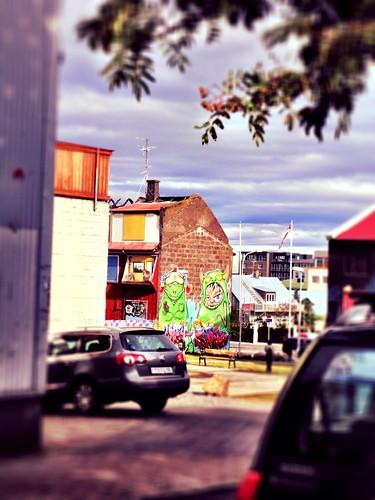 Reykjavik graffiti by SpatzMe