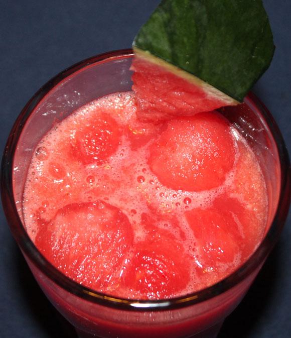 Wassermelonen - Ingwer Shake