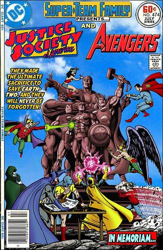 Comic Book Character Mash-Ups by roborange