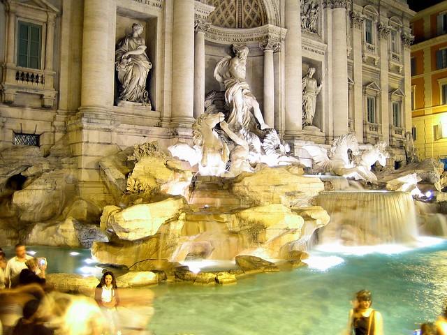Fontana di Trevi | Fountain di Trevi
