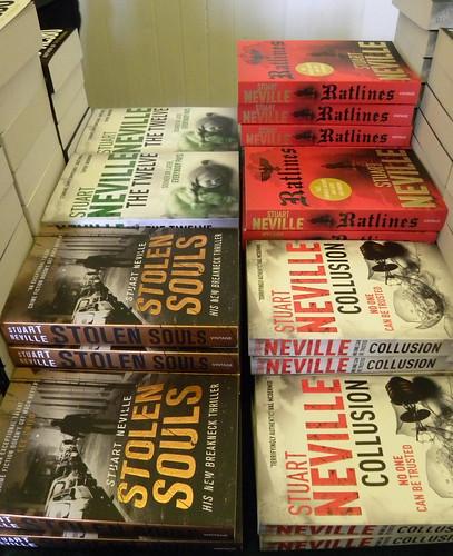 Stuart Neville books