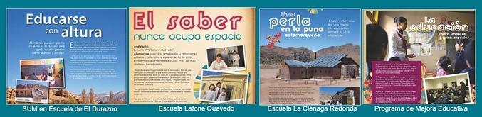Minera Alumbrera y el apoyo a la Educación en Comunidades Vecinas