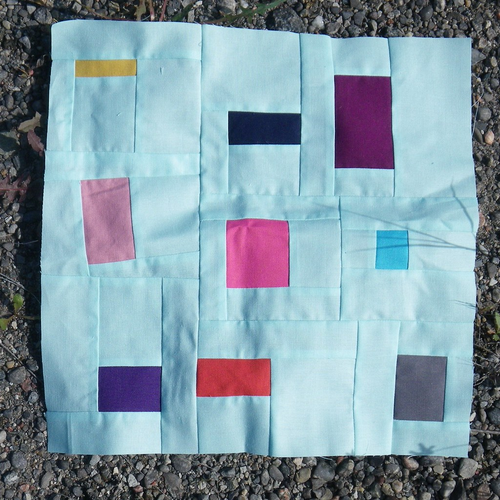 Confetti block for Pam