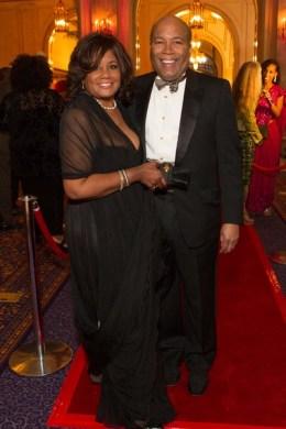 Carolyn Tyler and Gary Love