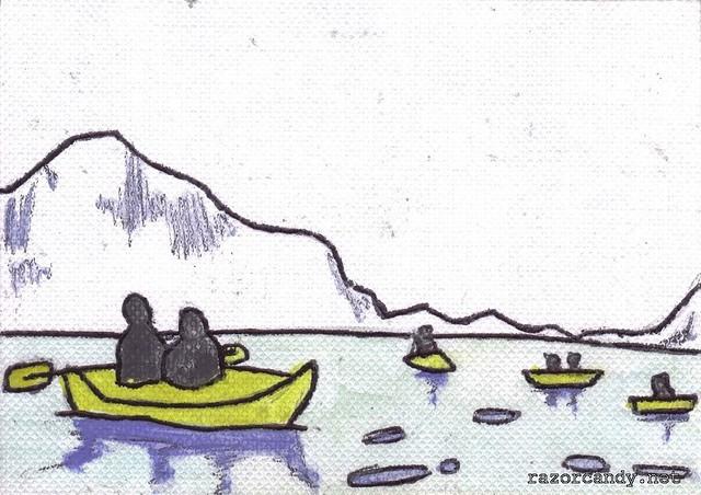 Antarctica Kayakers (1)