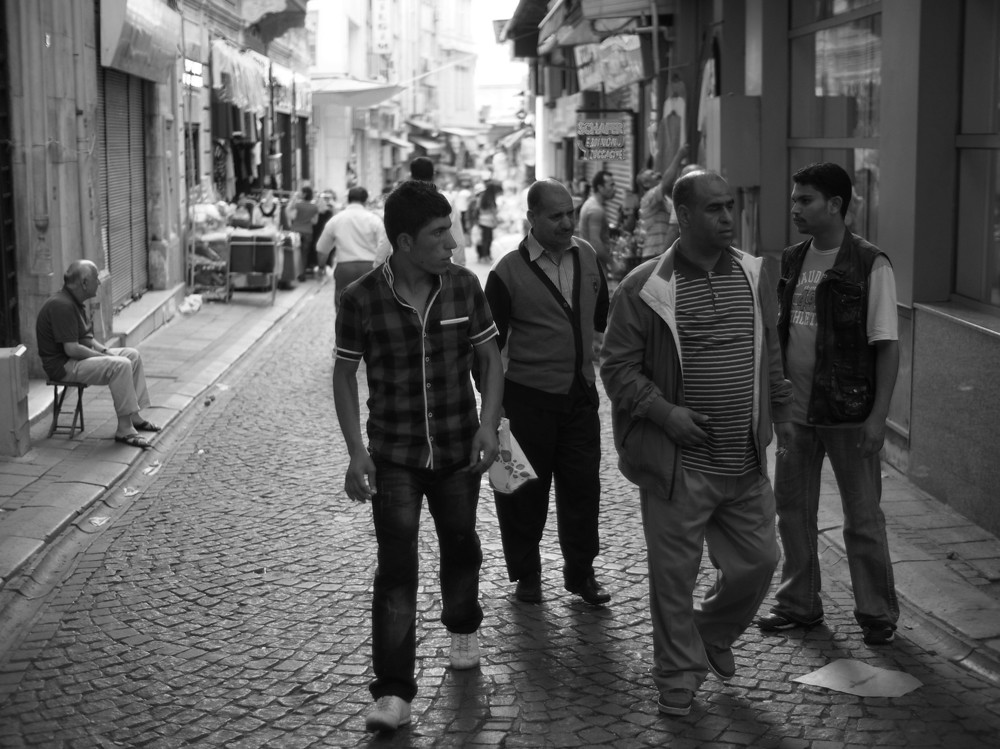 Loitering with intent. Eminönü