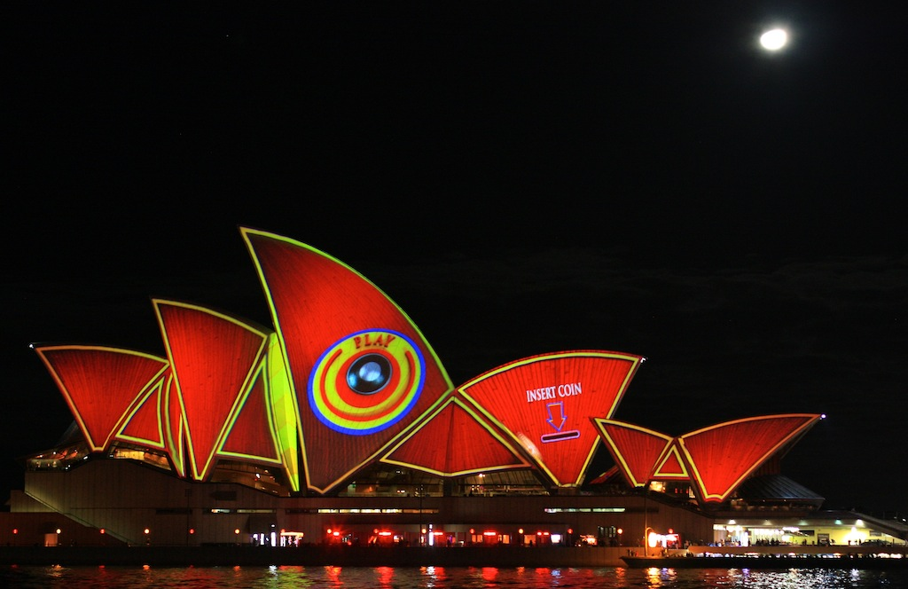 PLAY by Spinifex Group, Opera House, VIVID Sydney, Australia