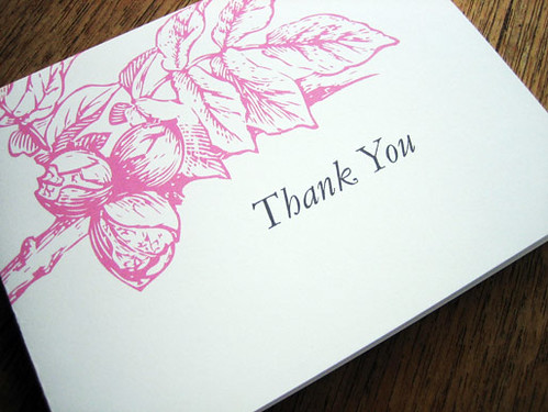 Printable Thank You Card - Floral