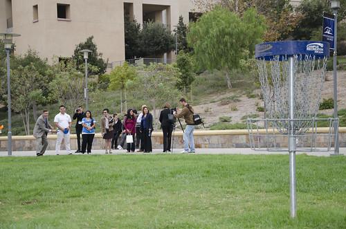 Chancellor White Visit - campus life by csusm