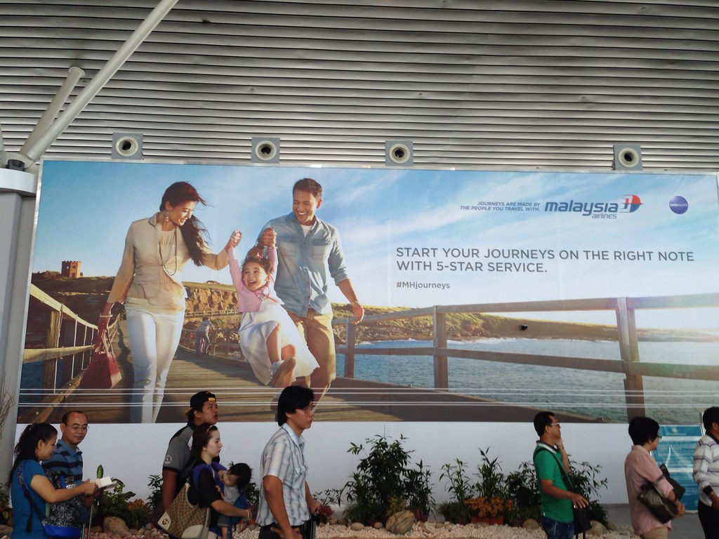 Malaysia Airlines' Advertisement