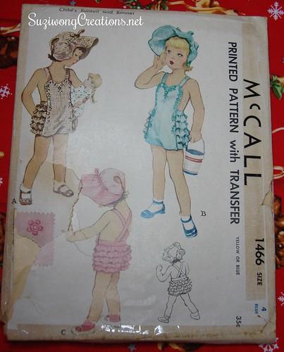 McCall 1466 - 1949 w/transfer
