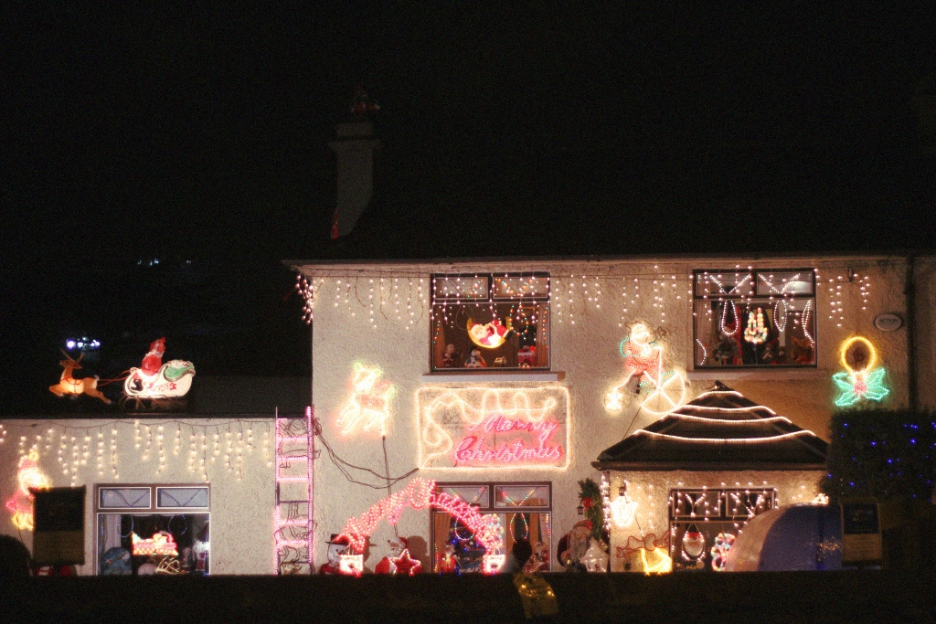 christmas decoration house sandymount dublin 2