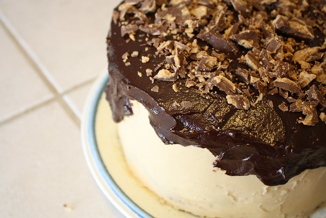 Cork and Cow's Peanut Butter Cake