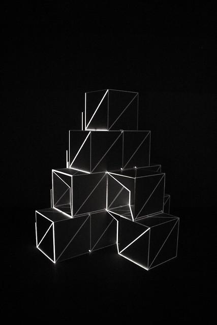 mayer+empl . bxs13 . interactive light sculpture . munich . 2013