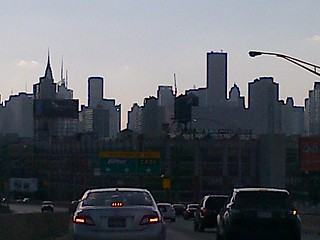 Manhattan Slkyline at 6:39pm Saturday, July 6