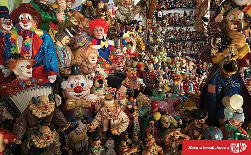 Kit Kat - Have A Break Clown Collection