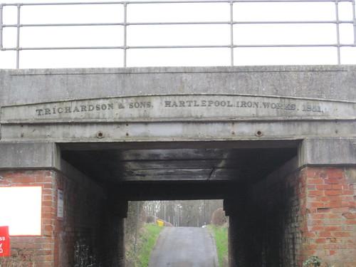 T. Richardson, Hartlepool Iron Works 1851, Moorhouse Estate.