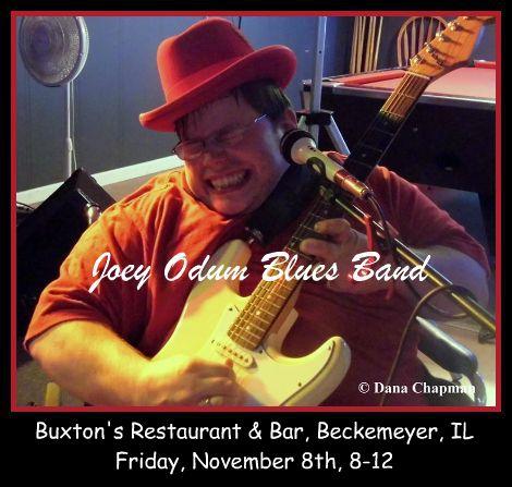 Joey Odum Blues Band 11-8-13