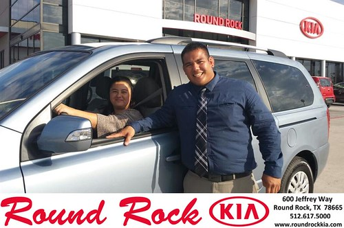 Thank you to Rosemarie Reyes on your new 2013 #  #  from Roberto Nieto and everyone at Round Rock Kia! #LoveMyNewCar by RoundRockKia