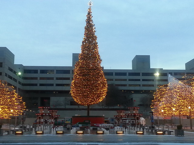 Mayor's Christmas Tree at Crown Center, Kansas City, Missouri