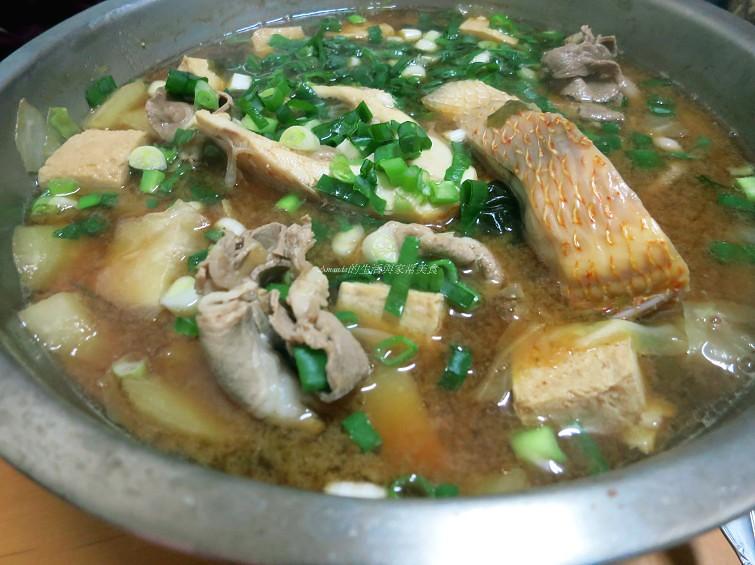 尼羅紅魚味噌鍋