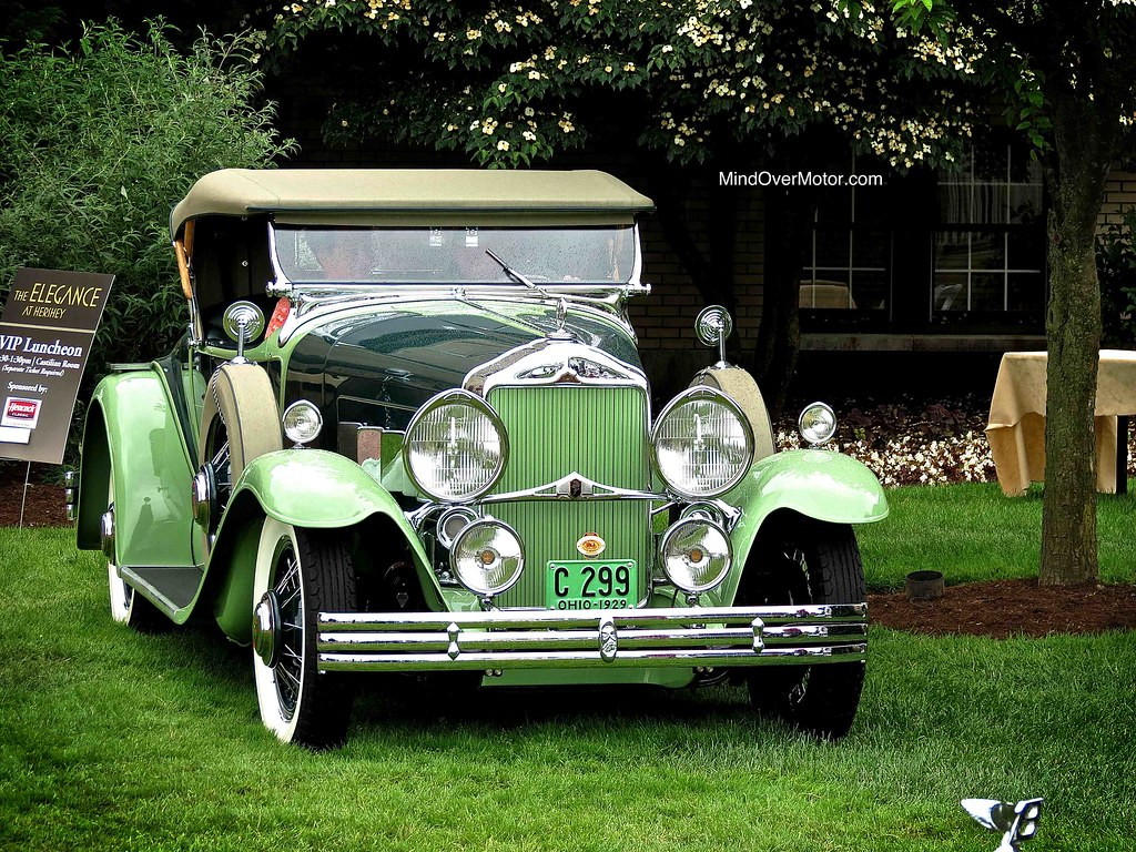 "1929 Willys-Knight 66B ""Plaidside"" Roadster"