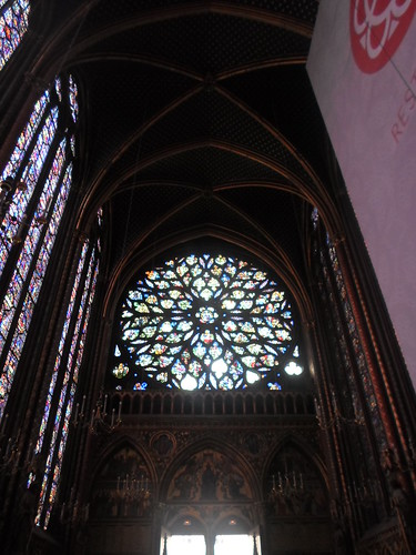 The incredible Rayonnant West end of St. Chapelle