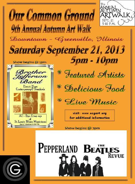 Greenville Art Walk 9-21-13