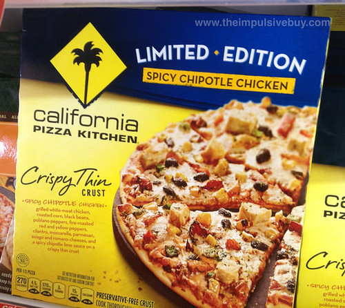 CPK Limited Edition Spicy Chipotle Chicken