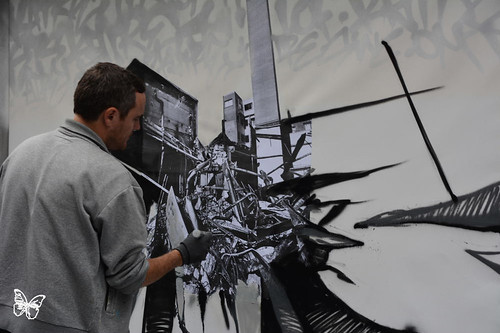 Paris Live Painting - Katre